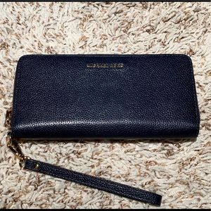 Michael Kors zip around wallet with wristlet loop